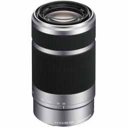 Sony E 55-210mm F4.5-6.3 OSS E-Mount Telephoto (Silver)