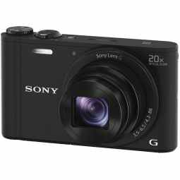 Sony CyberShot DSC-WX350 20x Zoom Digital Camera (Black)