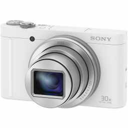 Sony WX500 Compact Camera with 30x Optical Zoom (White) | DSC-WX500