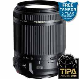Tamron 18-200mm f3.5-6.3 Di II VC (B018) All in one zoom lens - Canon EF-S
