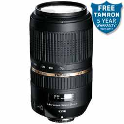 Tamron SP 70-300mm f4-5.6 Di VC USD (A005) Nikon FX fit