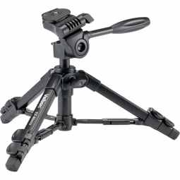 Velbon EX-Macro Mini Tripod with 3-way head & case