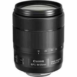 Canon EF-S 18-135mm f/3.5-5.6 IS USM All-in-one Lens