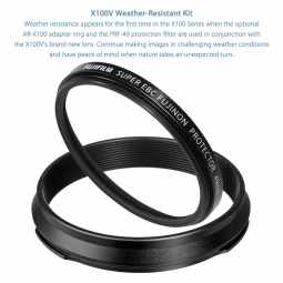 Fujifilm X100V Weather Resistance kit | Black