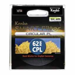 Kenko 62mm Smart Filter Circular Polarizing SLIM
