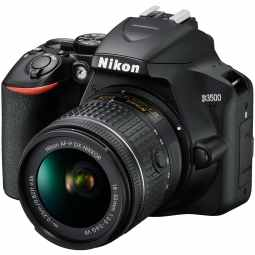 Nikon D3500 DSLR with 18-55mm AF-P VR (Black)